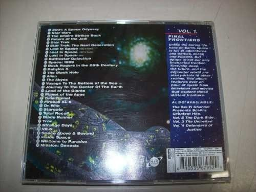 Cd - Sci-fi's Greatest Hits - Volume 1 - Final Frontiers na internet