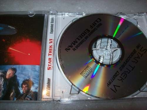 Cd - Star Trek 6 - The Undiscovered Country - Completo -rare - comprar online