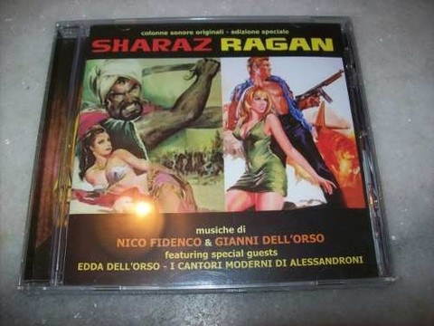 Cd - Sharaz / Ragan - Nico Fidenco - Importado - Lacrado