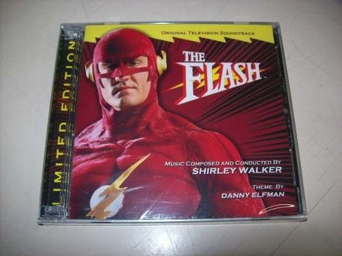 Cd - The Flash - Shirley Walker - Importado - Lacrado