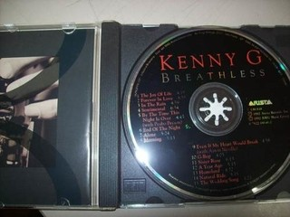 Cd - Kenny G - Breathless - Nacional - Usado - comprar online