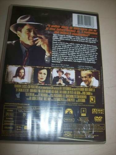 Dvd - Crimes De Um Detetive - Robert Downey Jr. - Nacional na internet