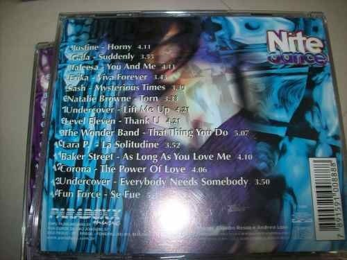 Cd - Nite Dance Collection - Box 5 Cds - Nacional - Usado - loja online