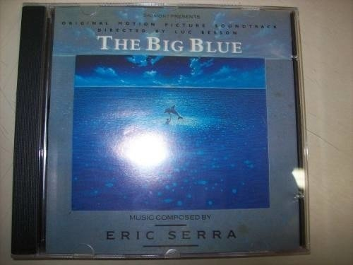 Cd - The Big Blue - Eric Serra - Nacional - Usado