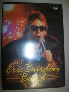 Dvd - The Eric Burdon Band Live - Nacional - Usado