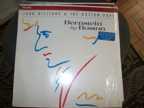 Lp - Boston Pops - John Williams - Bernstein By Boston- Imp.