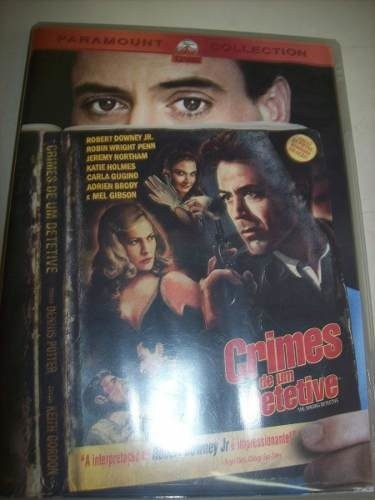 Dvd - Crimes De Um Detetive - Robert Downey Jr. - Nacional