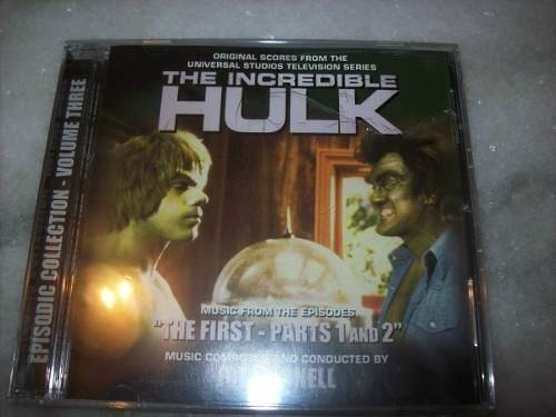 Cd - The Incredible Hulk - Joe Harnell - Vol.3 - Importado