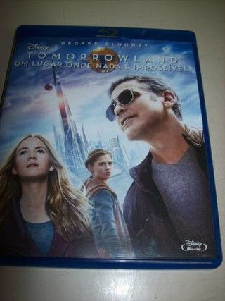 Blu Ray - Tomorrowland - George Clooney - Disney - Nacional
