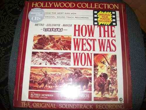 Lp - How The West Was Won - Alfred Newman - Nacional - Usado