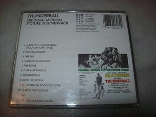 Cd - 007 Thunderball - John Barry - Importado - Usado na internet