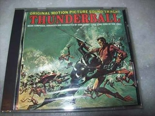 Cd - 007 Thunderball - John Barry - Importado - Usado
