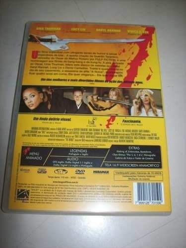 Dvd - Kill Bill - Volume 1 - Tarantino - Nacional na internet