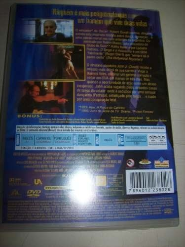Dvd - O Tango E O Assassino - Robert Duvall - Nacional na internet