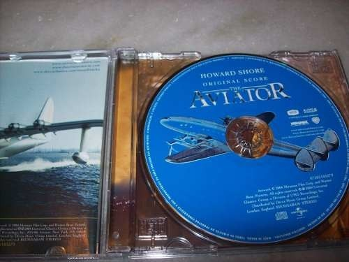 Cd - The Aviator - Howard Shore - Nacional - Decca - comprar online