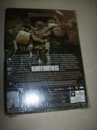 Dvd - Band Of Brothers - Mini-series - 6 Dvds - Nacional - loja online
