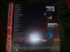 Lp - Days Of Thunder - Soundtrack - Com Poster - Nacional - comprar online