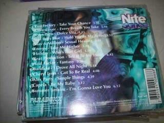 Imagem do Cd - Nite Dance Collection - Box 5 Cds - Nacional - Usado