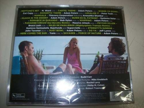 Cd - Savages - Soundtrack - Importado - Lacrado - comprar online