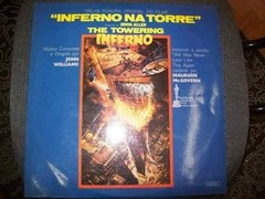 Lp - The Towering Inferno - John Williams - Promo - Nacional