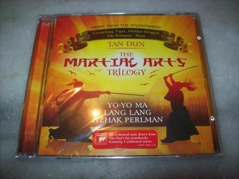 Cd - The Martial Arts Trilogy - Tan Dun - Importado -lacrado