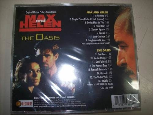 Cd - Max And Helen - Christopher Young - Limitado - Impt. - comprar online