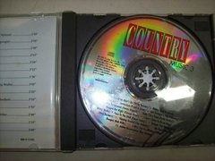 Cd - Country Music 3 - Nacional - Usado - comprar online