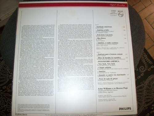 Lp - Boston Pops - John Williams - America, Dream - Nacional - comprar online