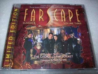 Cd-farscape-classics-volume 3-guy Gross-importado