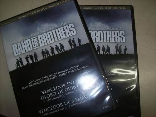 Dvd - Band Of Brothers - Mini-series - 6 Dvds - Nacional na internet