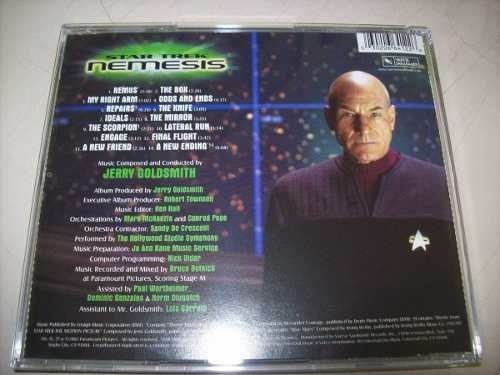 Cd - Star Trek Nemesis - Jerry Goldsmith - Importado - comprar online