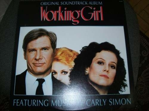 Lp - Working Girl - Carly Simon - Nacional