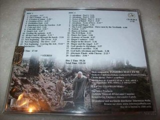Cd - The Bible - Toshiro Mayuzumi - Limitado - 2 Cds-lacrado - comprar online