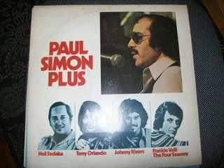 Lp - Paul Simon Plus - Johnny Rivers/neil Sedaka - Nacional