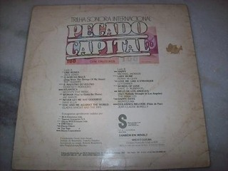 Lp - Pecado Capital- Internacional - Novela - 1976 - comprar online
