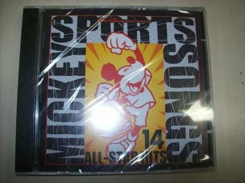 Cd - Mickey Sports Songs - 14 All Star Hits - Nacional