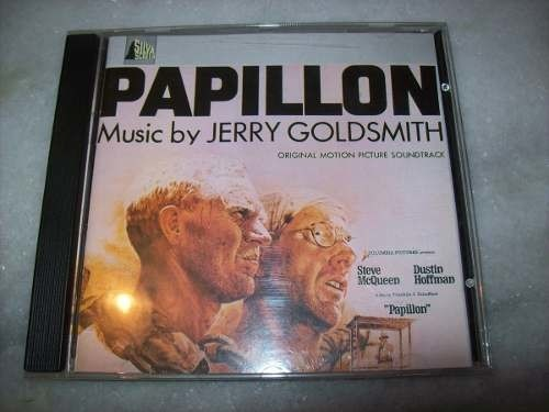 Cd - Papillon - Jerry Goldsmith - Importado - Usado