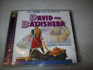Cd - David And Bathsheba - Alfred Newman - Importado-lacrado