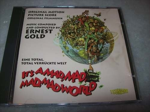 Cd - It's A Mad, Mad, Mad, Mad World - Ernest Gold - Import.