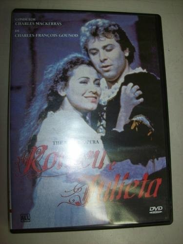 Dvd - Romeu E Julieta - The Royal Opera - Nacional - Usado