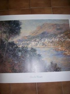 Litografia - Claude Monet - Monte Carlo - Made In Canada