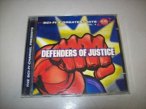 Cd - Sci-fi's Greatest Hits - Volume 4 -defenders Of Justice