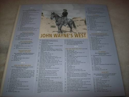 Imagem do Cd - John Wayne West-in Music And Poster Art-box Set-10 Cds
