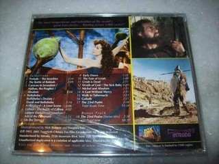 Cd - David And Bathsheba - Alfred Newman - Importado-lacrado - comprar online