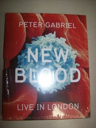 Blu Ray - Peter Gabriel -new Blood- Live In London -nacional