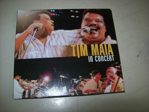 Cd - Tim Maia - In Concert - Nacional - Usado
