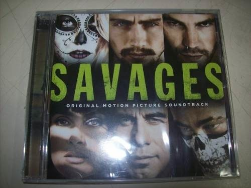 Cd - Savages - Soundtrack - Importado - Lacrado