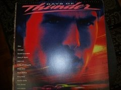 Lp - Days Of Thunder - Soundtrack - Com Poster - Nacional