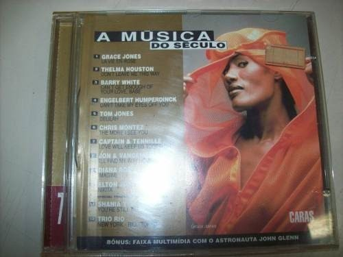 Cd - A Música Do Século - Volume 7 - Caras - Nacional -usado