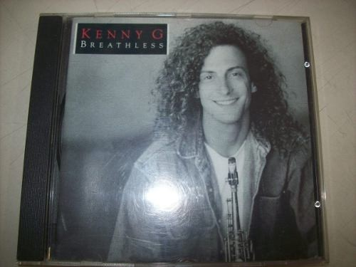 Cd - Kenny G - Breathless - Nacional - Usado